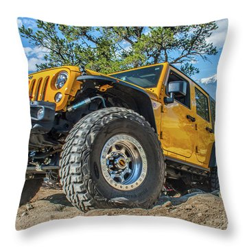 Jeep Life Throw Pillow