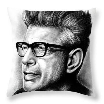 Jeff Goldblum Throw Pillow