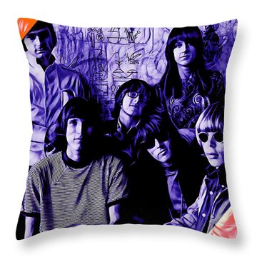 Jefferson Airplane Collection Throw Pillow