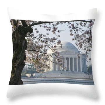 Jefferson Morning Throw Pillow