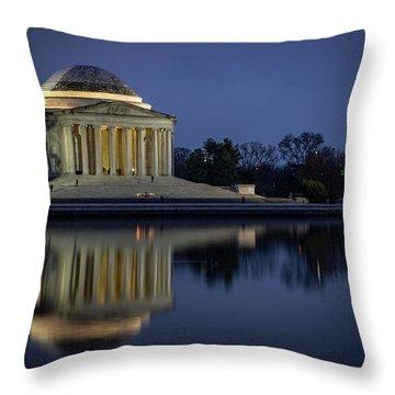 Jefferson Reflecting Throw Pillow