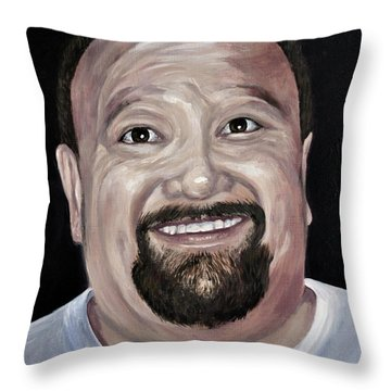 Jeffery Todd Waldemar Memorial Portrait Throw Pillow