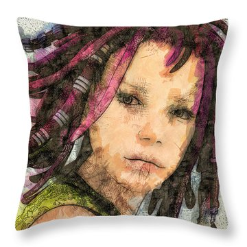 Jehanne Throw Pillow