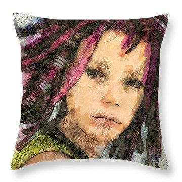 Jehanne Throw Pillow