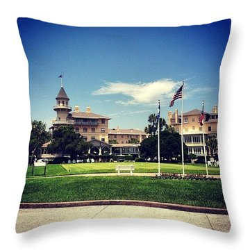 Jekyll Island Club Hotel  Throw Pillow