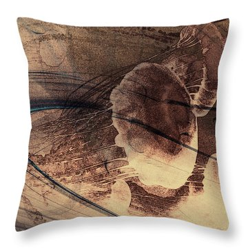 Jelly Fish 2 Throw Pillow