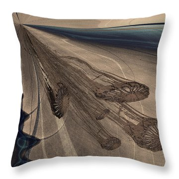 Jelly Fish 3 Throw Pillow
