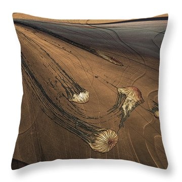 Jelly Fish 4 Throw Pillow