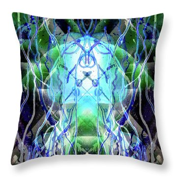 Jelly Weed Collective Throw Pillow