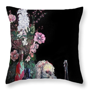 Jenibelle Throw Pillow by Jane Autry