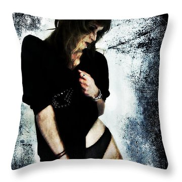 Jenn 1 Throw Pillow