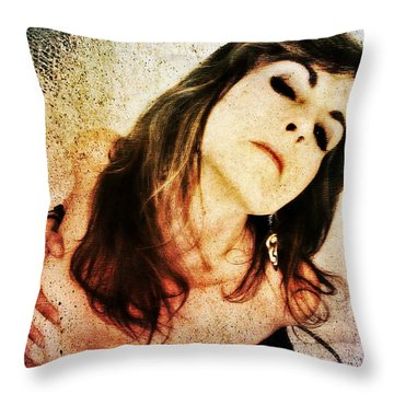 Jenn 2 Throw Pillow