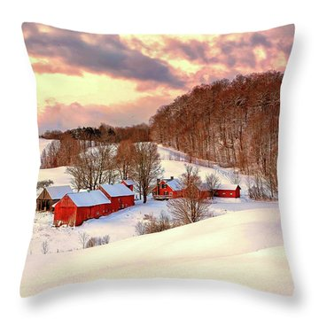 Jenne Farm After The Storm Throw Pillow