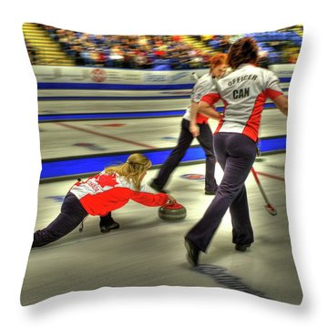 Jennifer Jones Throws Throw Pillow