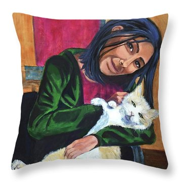 Jenny And Rogan Throw Pillow