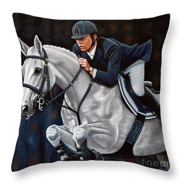Jeroen Dubbeldam On The Sjiem Throw Pillow
