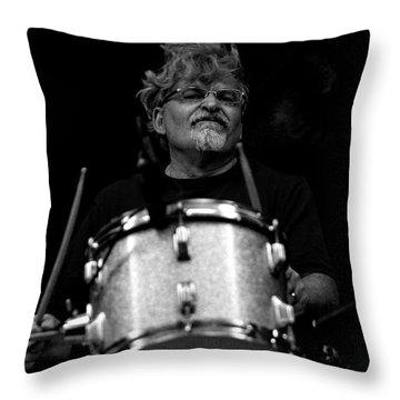 Jerry Throw Pillow by John Loreaux