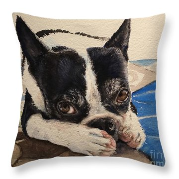 Jersey Throw Pillow