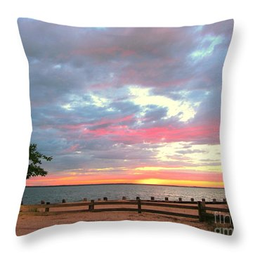 Jersey Summer  Throw Pillow