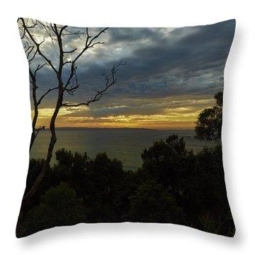 Jervis Bay Sunrise Throw Pillow