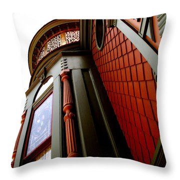Jesse's Home Throw Pillow by Linda Shafer