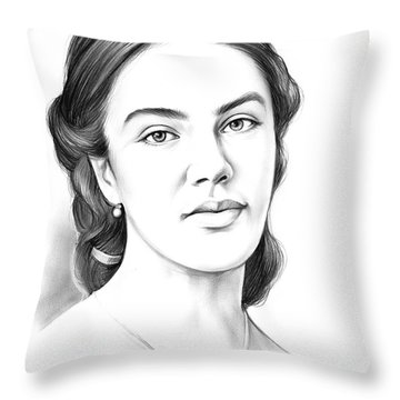 Jessica Findlay Throw Pillow
