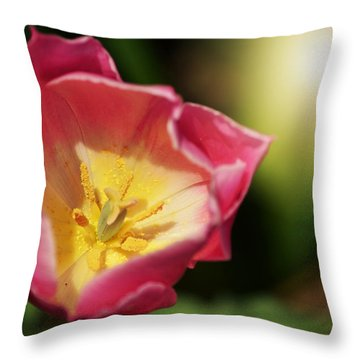 Jessica Throw Pillow by Trish Tritz