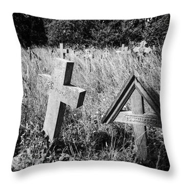 Jesu Mercy Throw Pillow