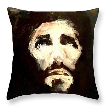 Jesus - 2 Throw Pillow by Jun Jamosmos