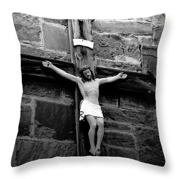 Jesus Christ Throw Pillow by David Lee Thompson