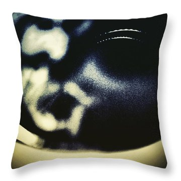 Jesus Christ In A Cup Of Coffee Throw Pillow by Jason Michael Roust