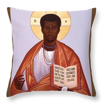 Jesus Christ - Liberator - Rljcl Throw Pillow