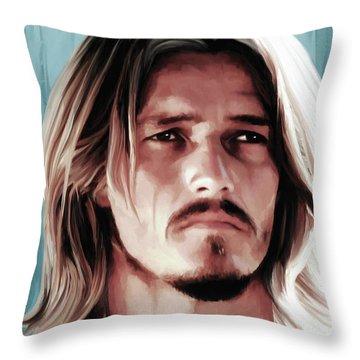 Jesus Christ Superstar Throw Pillow by Gabriel T Toro