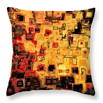 Jesus Christ The God Blessed Throw Pillow