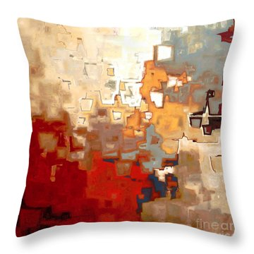 Jesus Christ The Only Begotten Son Throw Pillow by Mark Lawrence
