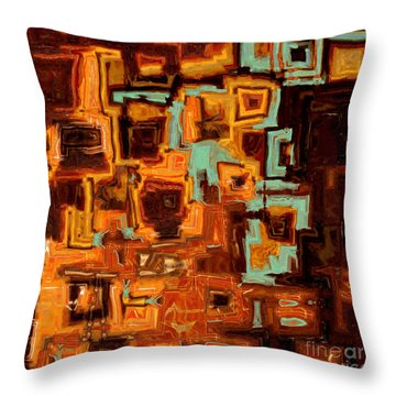 Jesus Christ The Son Of David Throw Pillow