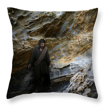 Jesus Christ- You Are My Hiding Place And My Shield Throw Pillow