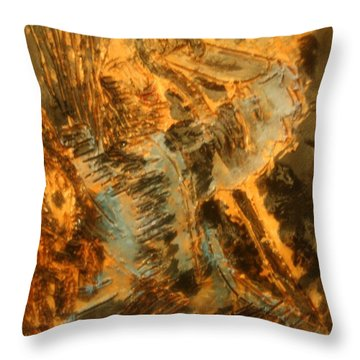 Jesus Good Shepherd - Tile Throw Pillow by Gloria Ssali