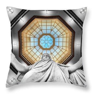 Jesus Halo Throw Pillow