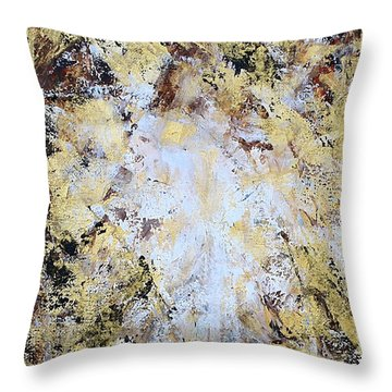Jesus In Disguise Throw Pillow by Kume Bryant