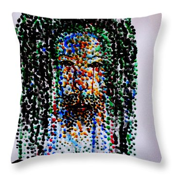 Jesus Lion Of Judah Throw Pillow