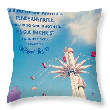 Jesus Said, you Have Heard That Our Throw Pillow