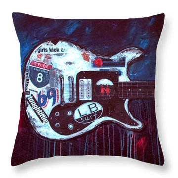 Jett Engine Throw Pillow
