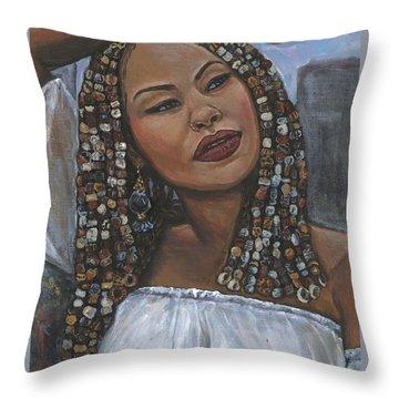 Jewel Throw Pillow