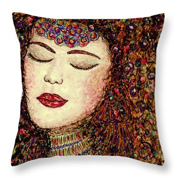 Jewel Throw Pillow