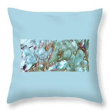 Jewel Of The Sea Throw Pillow