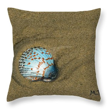 Jewel On The Beach Throw Pillow
