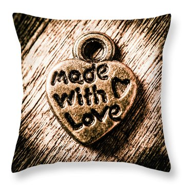 Jewellery Made With Love Throw Pillow