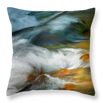 Jewels In The Stream Throw Pillow