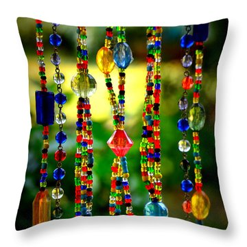 Jewels In The Sun Throw Pillow
